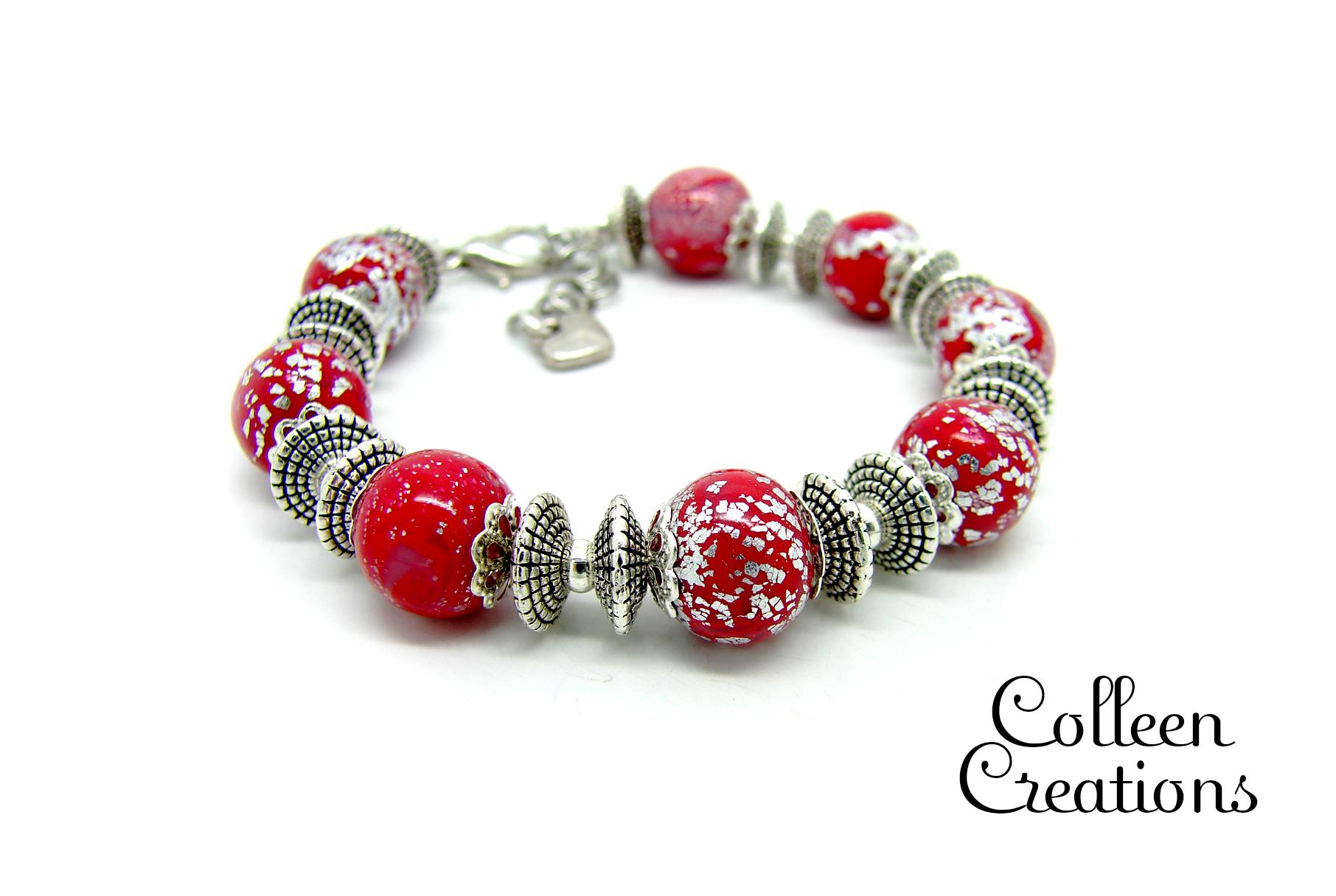 bracelet-multirang-rouge