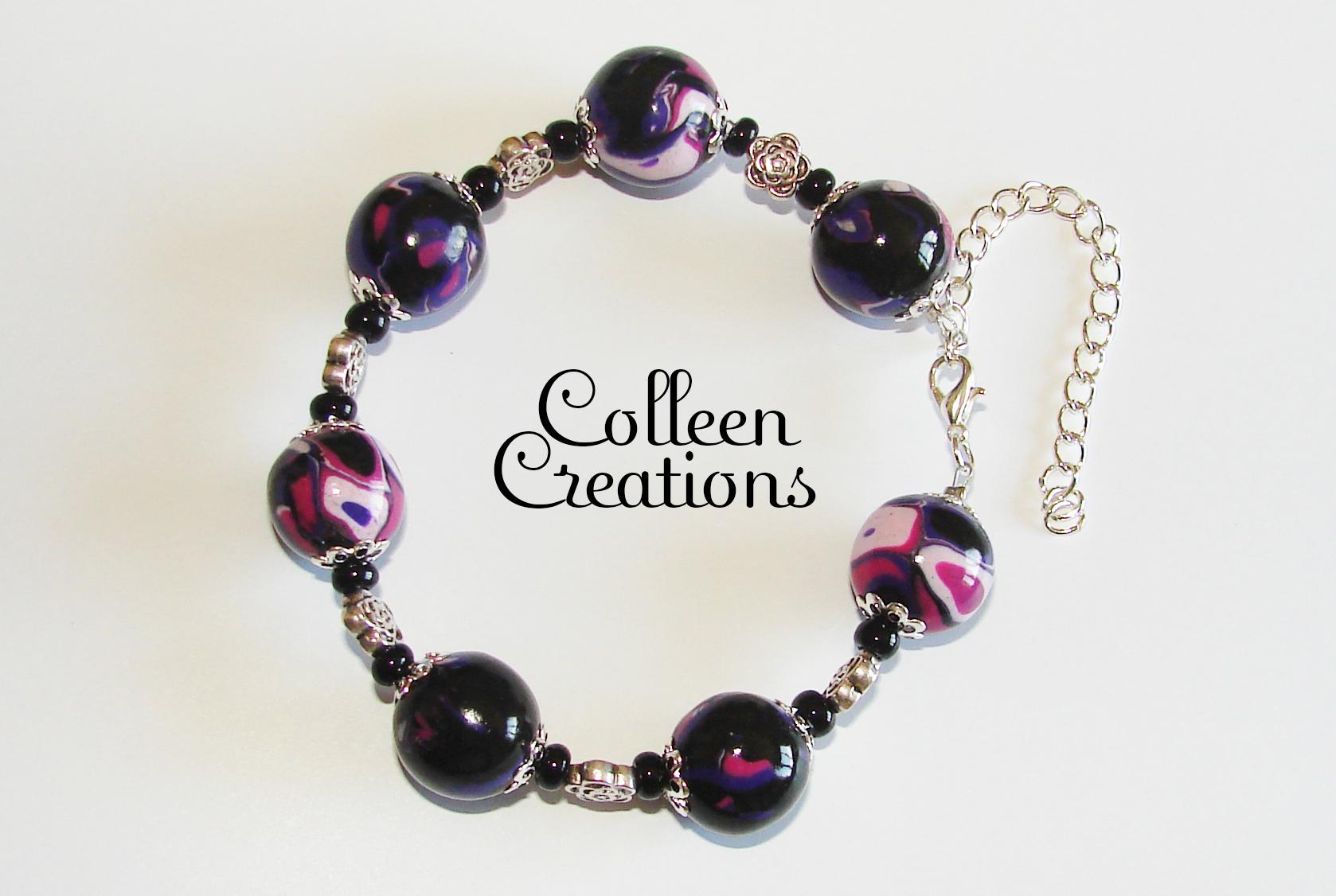 bracelet-violet-rose
