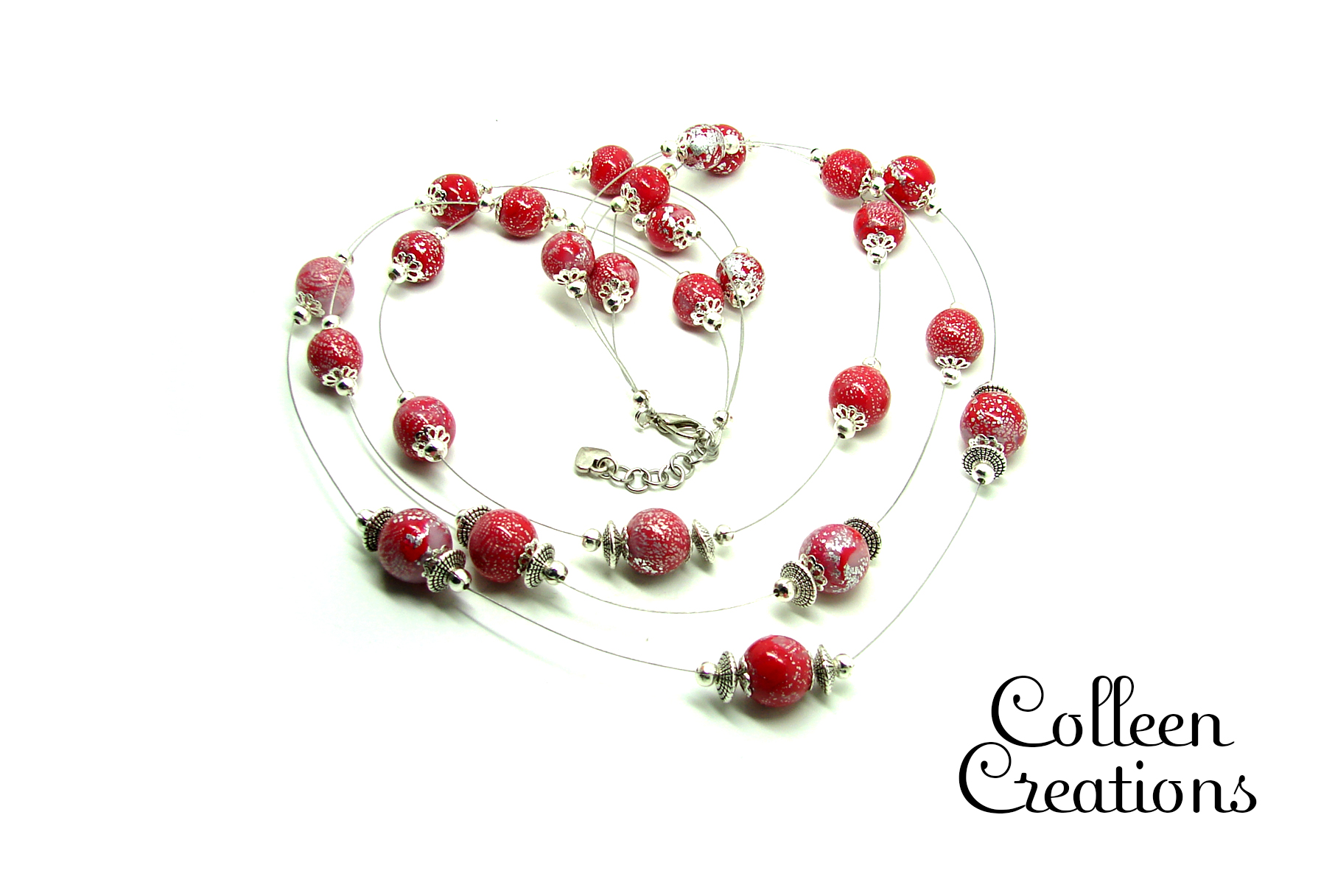 collier-multirang-rouge