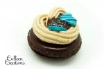 aimant-macaron-chocolat-turquoise