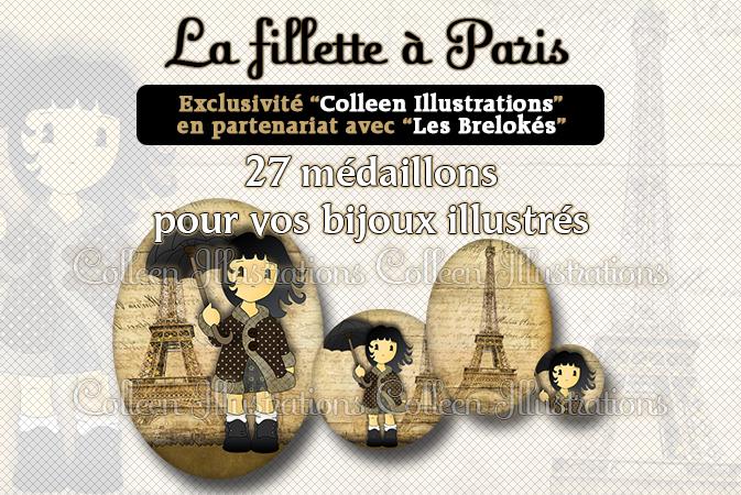 La fillette à paris - Exclu